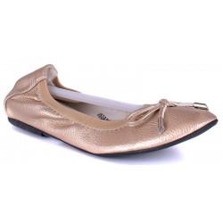 baleriny Wishot R15-D-P-519-GO złote rozmiar 36 37 38 39 40 41