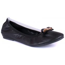 balerina damska Wishot R15-D-P-524-BK czarna rozmiar 37 38 39 40 41