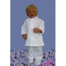 pelerynka do chrztu Baby Colibra Benio chłopięca