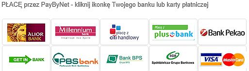 Zapłata przez PayByNet