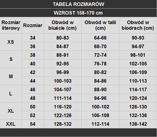 tabela rozmiarów Biba Styl