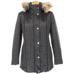 kurtka zimowa Biba Xenia czarna rozmiar 44 46 50 52 54