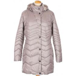 kurtka pikowana Biba Bella jasno szara rozmiar 42 44 46 48 50