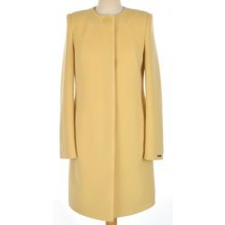 płaszcz Dziekański Inez Lux bananowy rozmiar 36 38 40 42 44 46 48