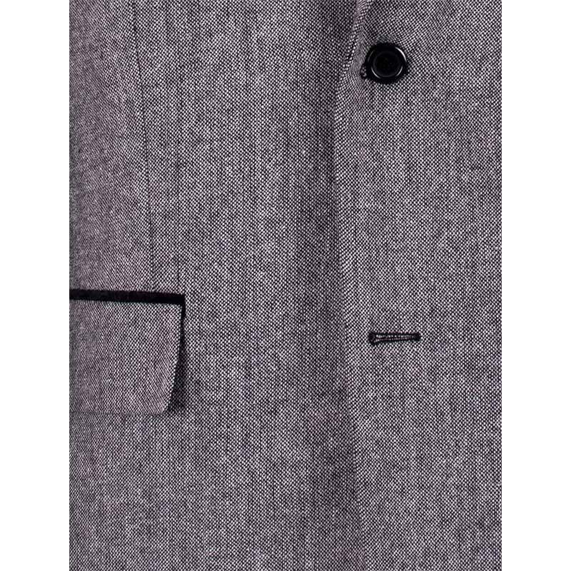 Marynarka męska tweedowa, grafitowa Asta rozmiar 50 52 54 56 58 60