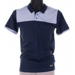 Koszulka Polo Lidos 26012490 granatowo-niebieska M,L,XL,2XL,3XL,4XL