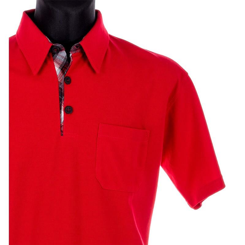 Koszulka Polo Kings 312901 czerwona