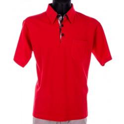 Czerwona koszulka Polo Kings 300*312901 z kieszonką M L XL 2XL 3XL 4XL