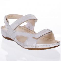 sandały Helios 221 srebrne rozmiar 38 39 40 41