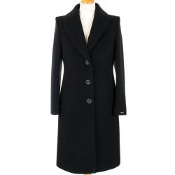 płaszcz Dziekański Aldona 164 czarny rozmiar 38 40 42 44 46 48 50