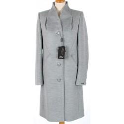 płaszcz Dziekański Katerina 053 jasny popiel rozmiar 38 40 42 44 46 48