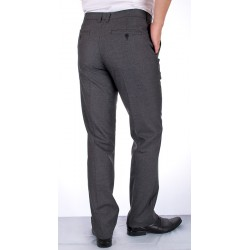 Szare spodnie bawełniane w kant Lord R-19 roz. 86-112 cm