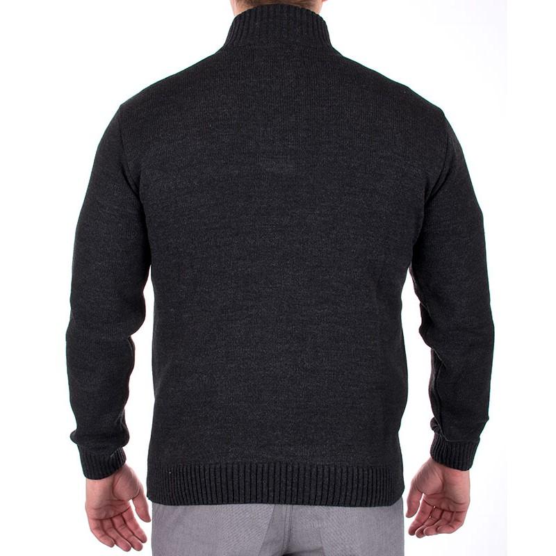 Sweter Jordi J-162 grafit
