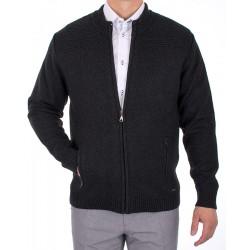 Rozpinany sweter Lasota Komandor grafitowy r. M L XL 2XL 3XL 4XL