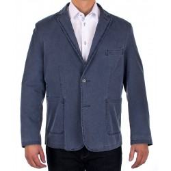 Marynarka regular Pantex 0035 niebieska jeansowa roz. 52 54 56 58 60
