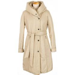płaszcz ocieplany Dziekański Tanita beżowy rozmiar 38 40 42 44 46