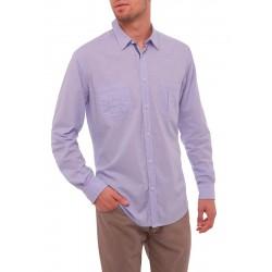 Koszula Roy KS120 6059 285 niebieska regular dł.rękaw M, L, XL, 2XL
