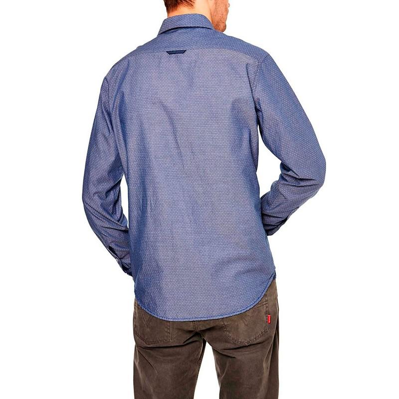 koszula Roy KS231 Jeansowa