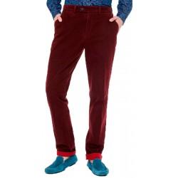 Spodnie chinos Roy SML38 73300 32168 bordowe 48 50 52 54 56 58 60