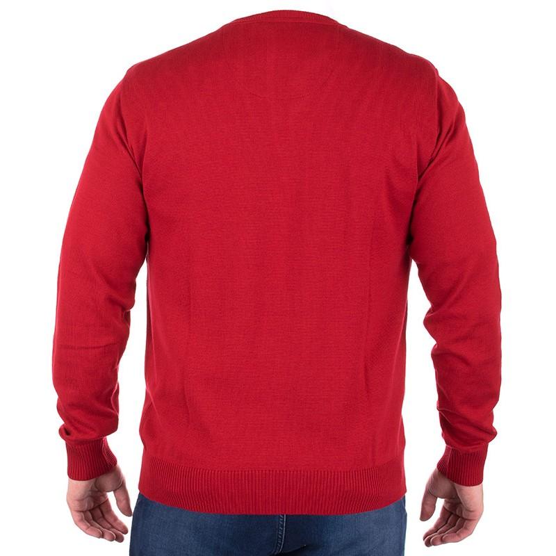 Czerwony sweter Jordi J-833