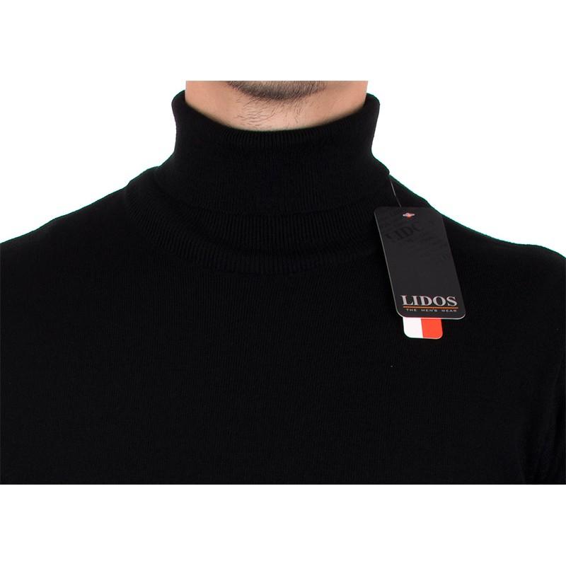 Czarny golf Lidos 1003