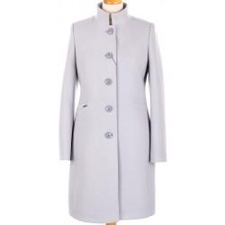 płaszcz damski HUNA Nina gołąbkowy rozmiar 40 42 44