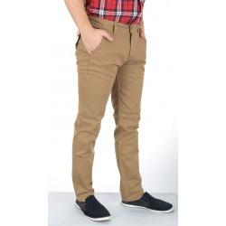 Spodnie typu chinos Bridle Italy Camel karmelowe roz. pas 86 - 104 cm
