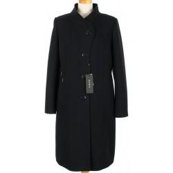 płaszcz damski HUNA Wiola czarny rozmiar 44 46 48 50 52