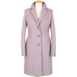 płaszcz damski Huna Nela jasno wrzosowy rozmiar 38 40 42 44 46 48