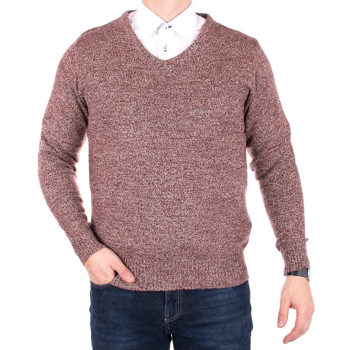 Sweter Ksdulon bordo