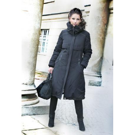 płaszcz Dziekański Roksana 178 czarny rozmiar 46