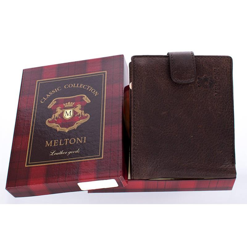 portfel Meltoni B4103/A brąz skóra