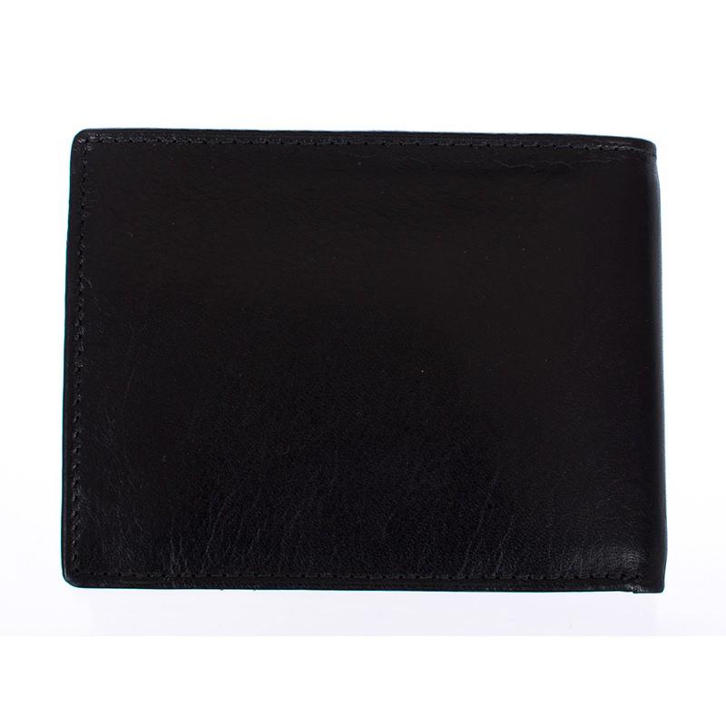 portfel Meltoni L615 czarny -czerwony