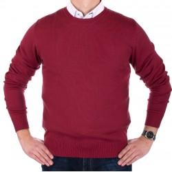 Bordowy sweter Jordi J-833 rozmiary M, L, XL,2XL