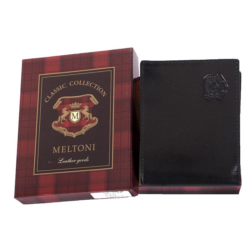 Portfel Meltoni B415 czarny