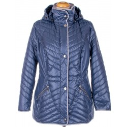 kurtka przejściowa Biba Benita ciemno niebieska rozmiar 40 44 50