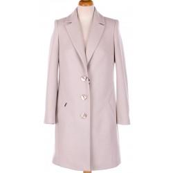 płaszcz przejściowy Huna Kinga jasny beż rozmiar 38 40 42 44 46 48 50 52