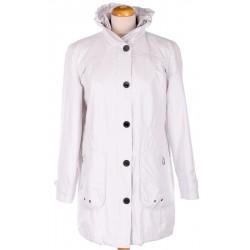 kurtka wiatrówka damska Biba Alexa biała rozmiar 48