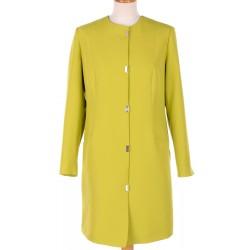 płaszcz wiosenny Biba Ewita limonkowy rozmiar 40 42 44 46 48 50