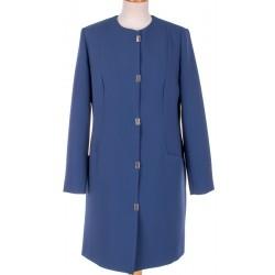 płaszcz nieocieplany Biba Ewita niebieski rozmiar 40 42 44 50