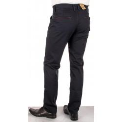 Czarne spodnie chinos Bridle Roberto Czarny roz. pas 88 - 120 cm