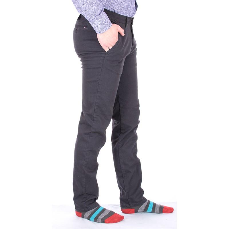 Spodnie Bridle 114-s ralf dark grafitowe