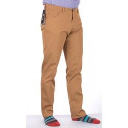 Beżowe spodnie Lord R-100 bawełniane roz. 82-112 cm