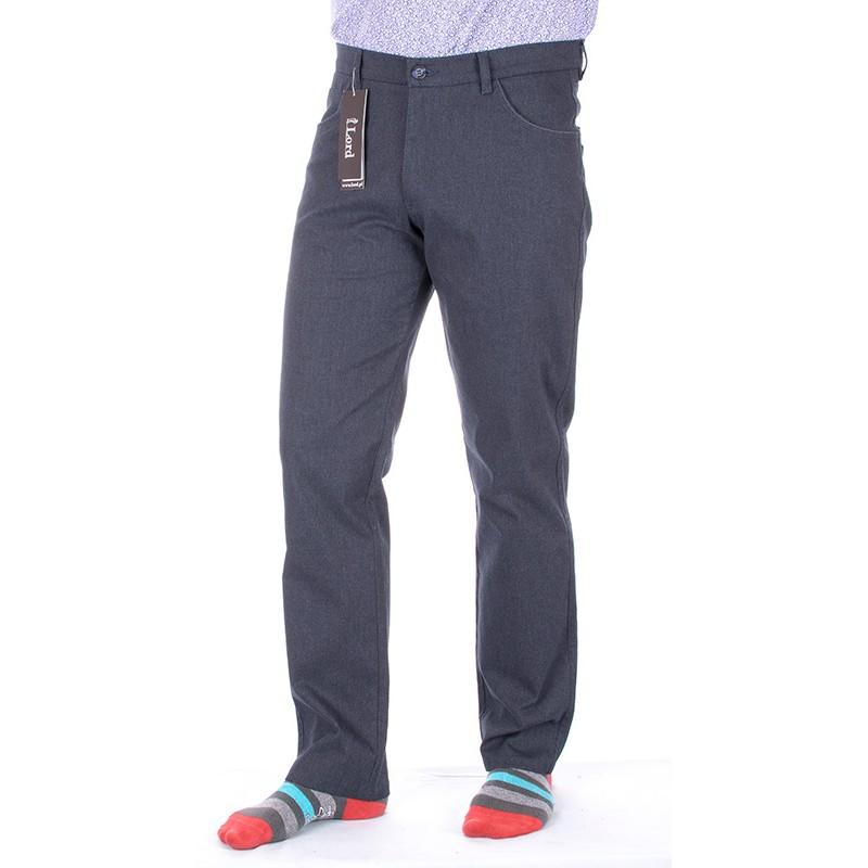 Granatowe spodnie Lord R-54