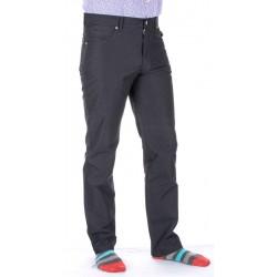 Czarne spodnie Lord R-22 delikatne prążki, bawełniane roz. 82-112 cm