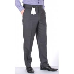 Szare proste spodnie Lord w kant