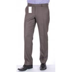 Proste spodnie Lord Sp.143 wełniane w kant cappuccino roz. 78 -114 cm