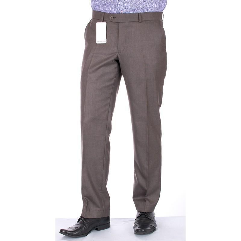 niezwężane spodnie Lord w kant Sp.143 - oliwkowe