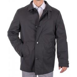 Czarna kurtka wiosenna Natan K-008 z kołnierzem roz. 50 52 58