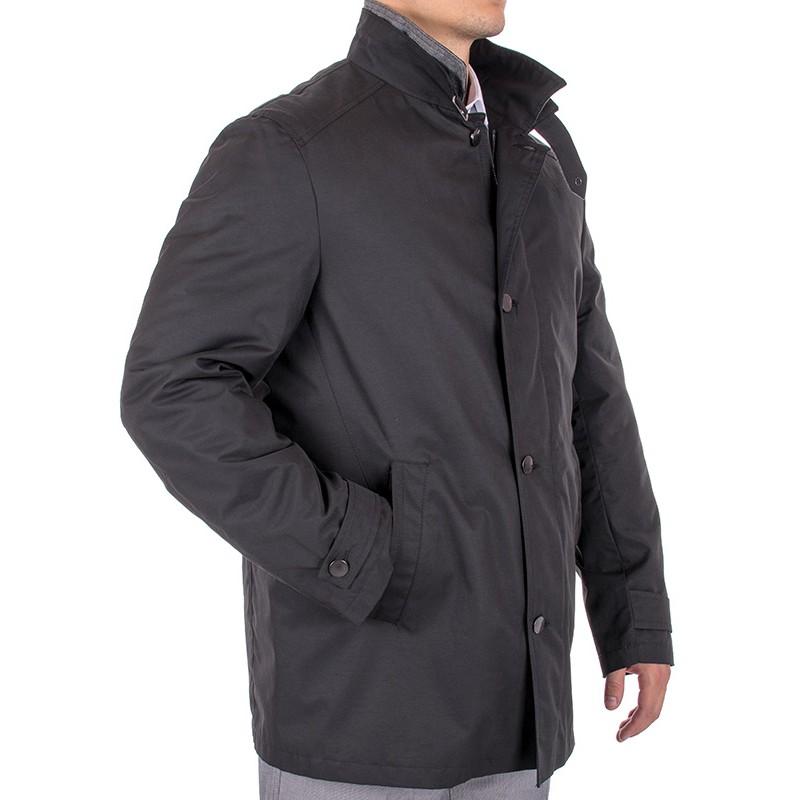 kurtka Natan K-008 czarna z podpinką